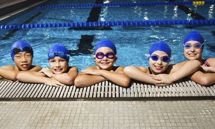 $99 for Eight Weeks of Swim Lessons and a Swim Cap at British Swim School ($206 Value)