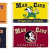 NCAA Man Cave 3'x5' Flag with Grommets