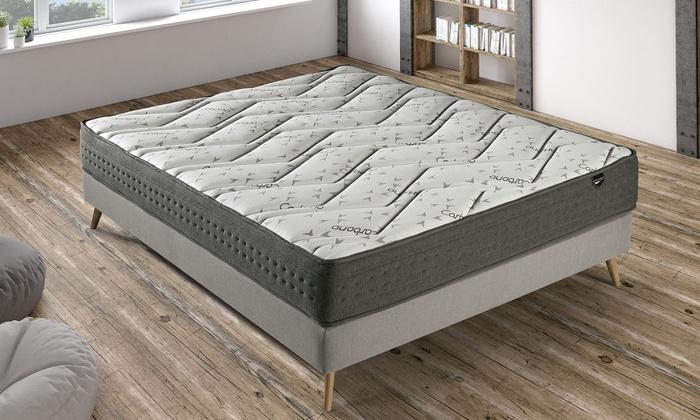 Matelas Graphène mémoire de forme, 7 zones de confort, 20 cm, fabriqué en Espagne