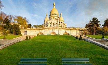 Parijs: verblijf voor twee nabij de SacréCœur in Hôtel Eden Montmartre, naar keuze met ontbijt