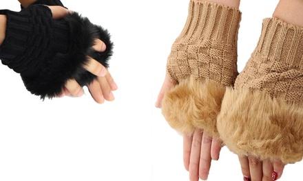 One Size Gabbie Fingerless Gloves