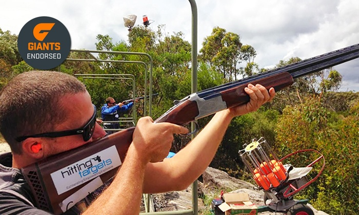 Hitting Targets - Hitting Targets: Two-Hour Group Clay Target Shooting - One ($98) or Two People ($189) at Hitting Targets, Cecil Park (Up to $400 Value)