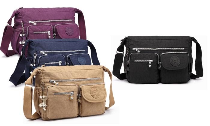 Multi-Compartment Crossbody Bag  73d1f6b33bb13