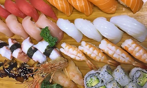 Ocean Blue Sushi Bar: Sushi and Drinks for Two or Four or More at Ocean Blue Sushi Bar (Up to 40% Off)