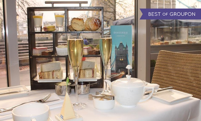 Afternoon Tea with Optional Sparkling Wine or Champagne for Two at The Tower Hotel (50% Off)