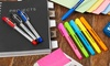 One or Two Papermate 20-Piece Stationery Sets
