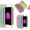 Color-Striped Wallet Case for iPhone 6/6s or 6 Plus/6s Plus