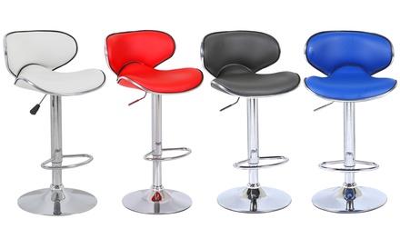 jusqu 39 59 tabourets de bar pegase groupon. Black Bedroom Furniture Sets. Home Design Ideas