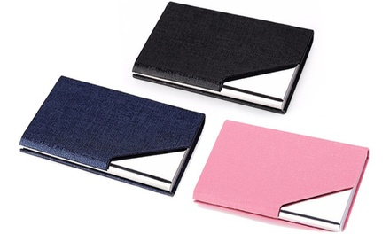RFID Security Wallet Card Holder