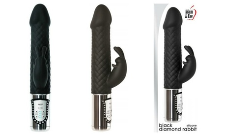 Adam and Eve Black Diamond Rabbit Vibrator 9256d28e-5699-11e7-bf84-002590604002