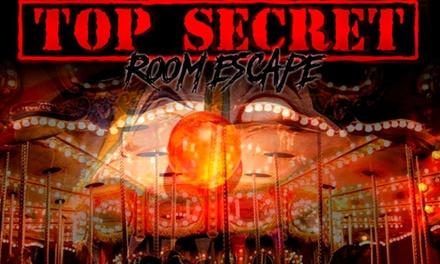 Escape room a elegir para hasta 6 personas desde 19,95 € en Top Secret Room Escape
