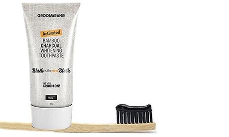 1, 2 o 3 tubos de pasta de dientes de carbón Groomarang
