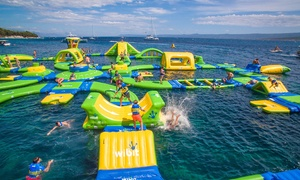 Up to 39% Off Single Splash Sessions at WhoaZone Aqua Park at WhoaZone , plus 6.0% Cash Back from Ebates.