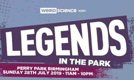 Legends in the Park 2019, 28 July at Perry Park
