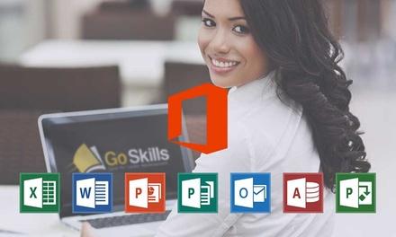 $99 for a NineCourse Microsoft Office Suite Course Bundle Don't Pay $199