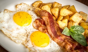 Fresh Farms Cafe: American Breakfast Fare and Drinks at Fresh Farms Cafe (50% Off). Two Options Available.