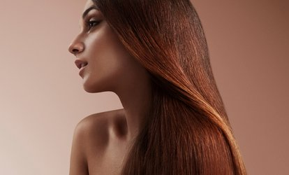 image for Lasio Keratin Smoothing Treatment at Salon DeMarzano (Up to 60% Off). Two Options Available.