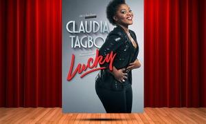 Nuits d'artistes: 1 place pour le spectacle de Claudia Tagbo, le vendredi 3 novembre 2017, à 29 € au Sébastopol