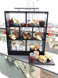 Sparkling Afternoon Tea for Up to Four at Sky Lounge DoubleTree Hilton Leeds
