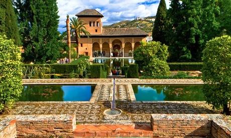 Granada: estancia en habitación doble o twin para 2 con desayuno y detalle de bienvenida en Hotel Yit Casablanca
