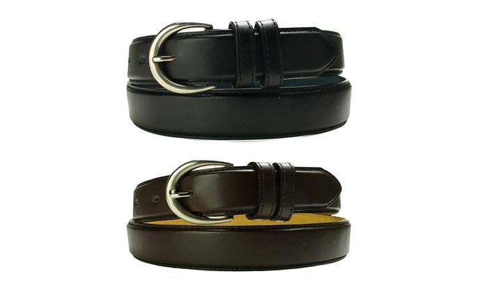 Buy 1 Get 1 Free: Men's Big & Tall Leather Dress Belts