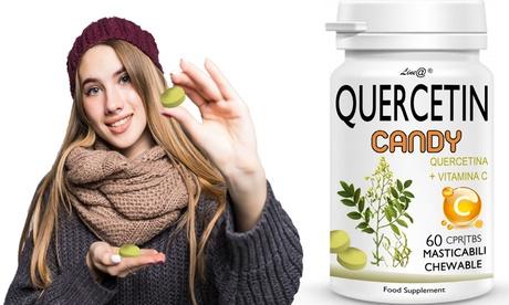 Hasta 360 caramelos Line@ con quercetina y vitamina C para fortalecer el sistema inmunológico
