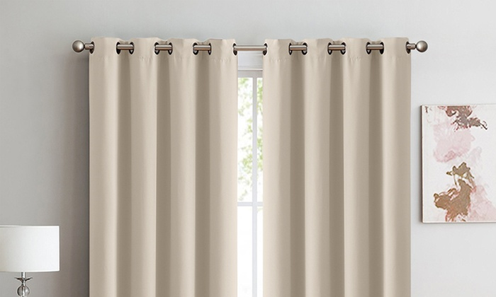 Two Panel Blockout Curtains