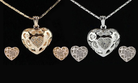 Hearts and Romance Jewellery Set