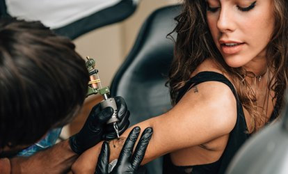 One-Hour Tattoo Session with Design Consultation at Tattoo M.ART (66% Off)