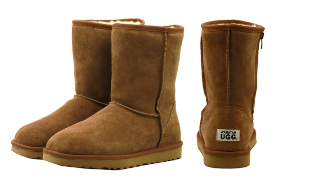 197ccf4e329 $69 for a Pair of Unisex Waratah UGG Water-Resistant Mid Zip-Up Boots  (Don't Pay $269)