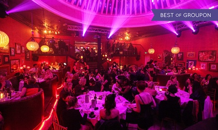 Cabaret and Burlesque Show with a Three-Course Dinner and Bubbly for Up to Ten at Proud Cabaret Brighton (Up to 55% Off)