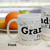 Up to 56% Off Personalized For Him Word-Art Coffee Mugs