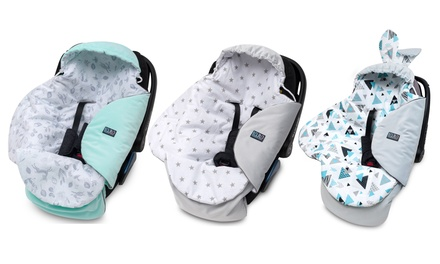 Manta silla de coche para bebés