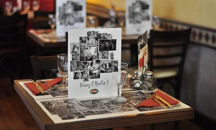 Cuisine italienne pour 2 ou 4 del arte marseille plan de campagne groupon - Restaurant au bureau plan de campagne ...