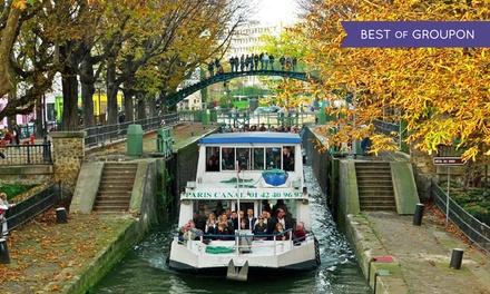 D ner croisi re sur le canal saint martin restaurant - Canal saint martin restaurant ...