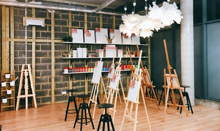 Acrylic Painting Experience on Canvas at Liberté Concept (Up to 50% Off)
