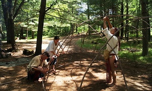 Forts Folle Avoine Historical Park: Admission for Two, Four, or Six to Forts Folle Avoine Historical Park (Up to 52% Off)