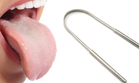 1, 2 o 3 raspadores metálicos de lengua Glamza