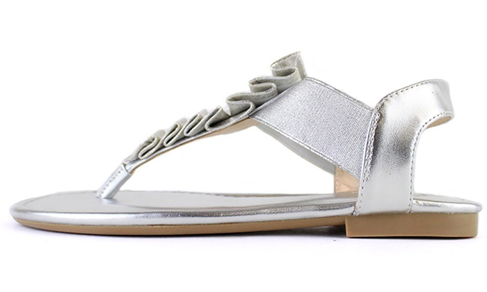 f0c00c128 Lust for Life Women s Flat Sandals (Size 8)