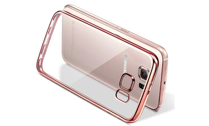 Ultra-Thin Slim Electroplated Crystal Case for Samsungs