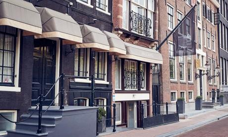 Ámsterdam: habitación doble para 2 personas con desayuno en Singel Hotel