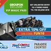 Unlimited Entry to 4 Theme Parks