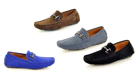 Men's Faux Suede Casual Loafers for £18.98