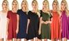 Lyss Loo Reporting for Cutie Women's T-Shirt Dress: Lyss Loo Reporting for Cutie Women's T-Shirt Dress