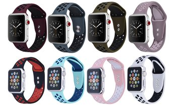 Breathable Sport Band for Apple Watch Series 1, 2, 3, 4, 5, and Sport