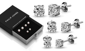 Boucles d'oreilles ornés de cristaux Swarovski®