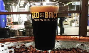Brewery Packages for Two or Four at Red Brick Brewery (Up to 59% Off)