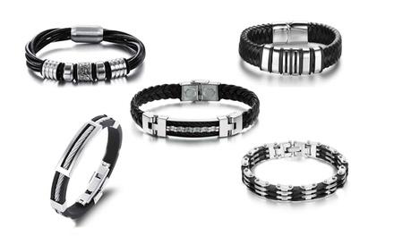 Up to Five Mens Bracelets