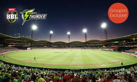 Groupon Exclusive Pre-Sale – SYDNEY THUNDER BIG BASH First Class Seating from $45 at Spotless Stadium, Multiple Dates