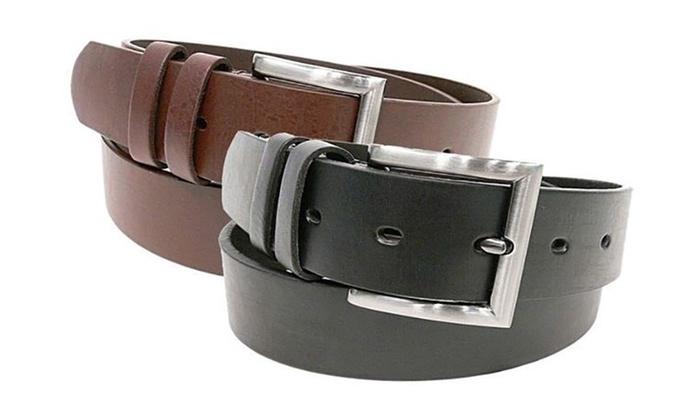 Buy 1 Get 1 Free: Men's Genuine Leather Belts